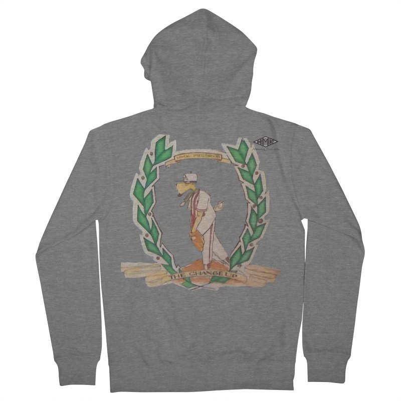 The Changeup Women's French Terry Zip-Up Hoody by HMKALLDAY's Artist Shop