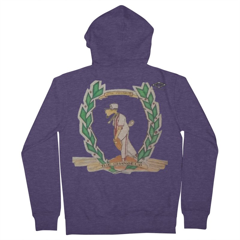 The Changeup Men's French Terry Zip-Up Hoody by HMKALLDAY's Artist Shop