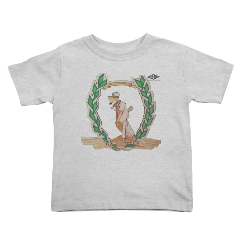 The Changeup Kids Toddler T-Shirt by HMKALLDAY's Artist Shop