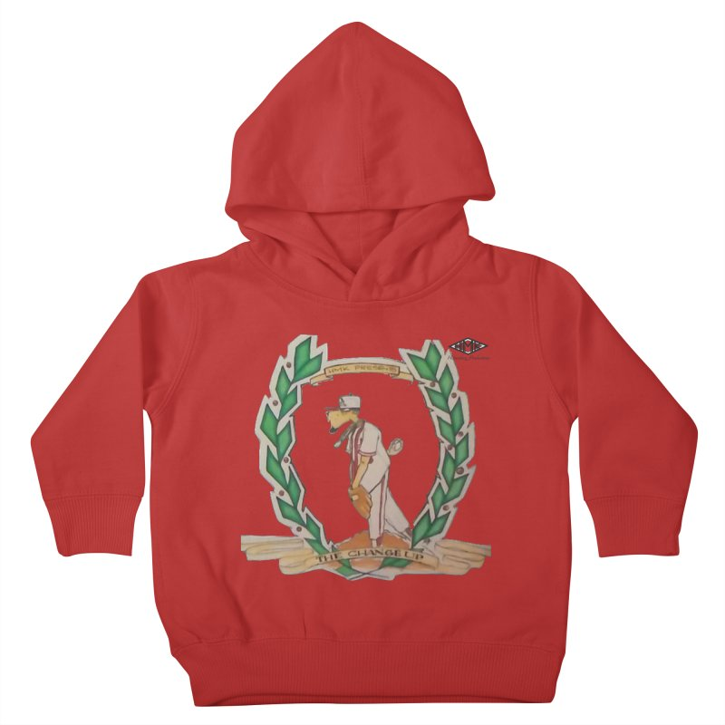 The Changeup Kids Toddler Pullover Hoody by HMKALLDAY's Artist Shop