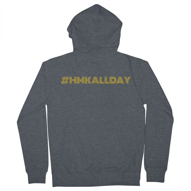 #HMKALLDAY Men's French Terry Zip-Up Hoody by HMKALLDAY's Artist Shop