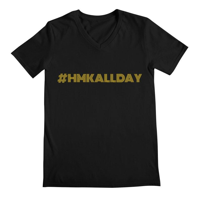 #HMKALLDAY Men's Regular V-Neck by HMKALLDAY's Artist Shop