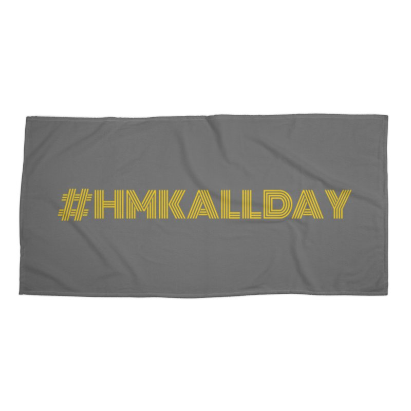 #HMKALLDAY Accessories Beach Towel by HMKALLDAY's Artist Shop