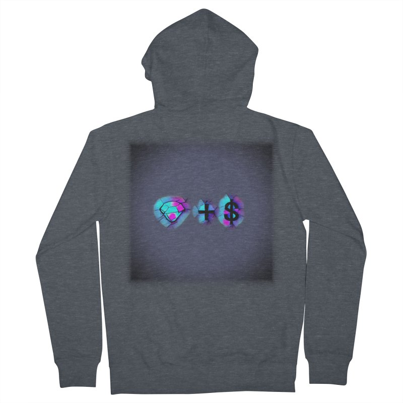 Diamondzndollasignz Men's French Terry Zip-Up Hoody by HMKALLDAY's Artist Shop