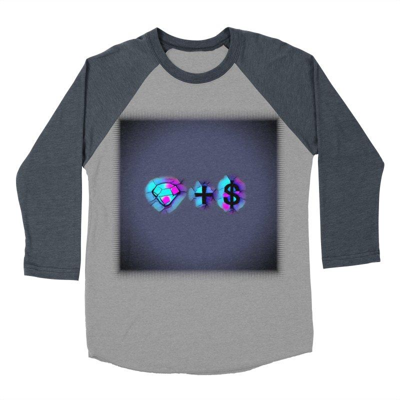 Diamondzndollasignz Women's Baseball Triblend Longsleeve T-Shirt by HMKALLDAY's Artist Shop