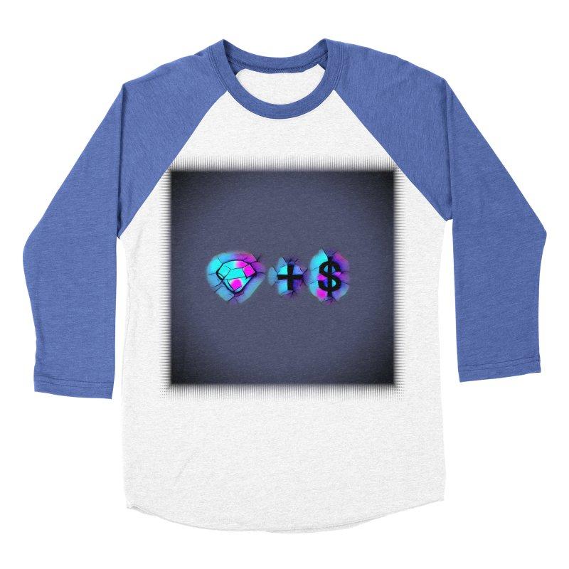 Diamondzndollasignz Men's Baseball Triblend Longsleeve T-Shirt by HMKALLDAY's Artist Shop