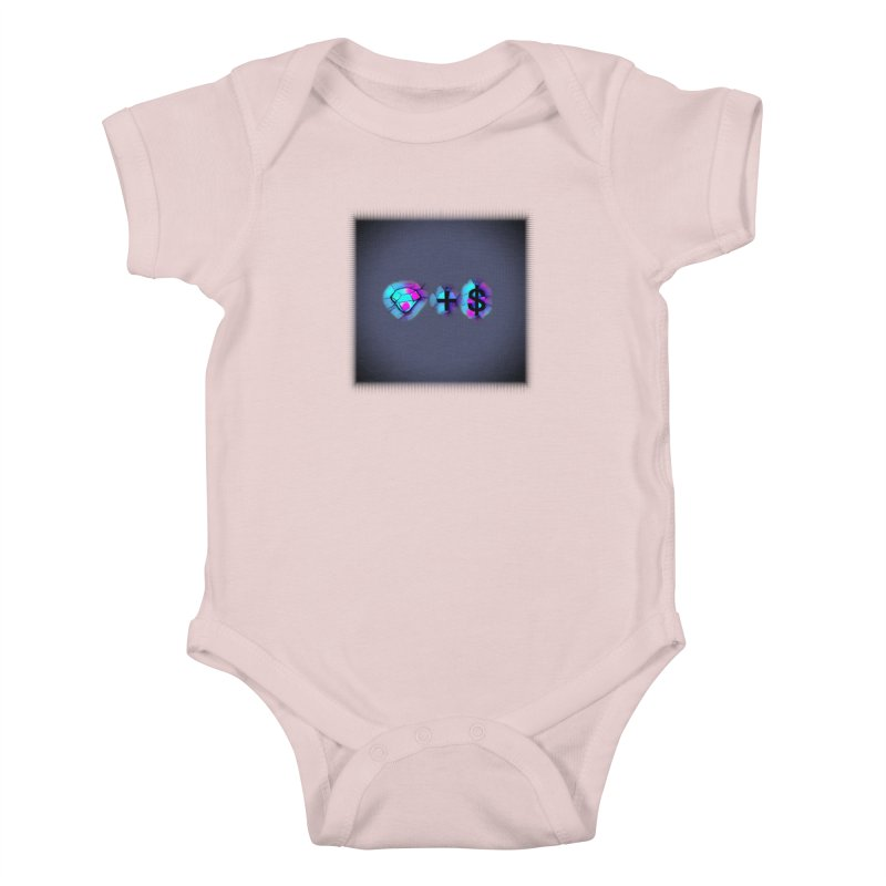 Diamondzndollasignz Kids Baby Bodysuit by HMKALLDAY's Artist Shop
