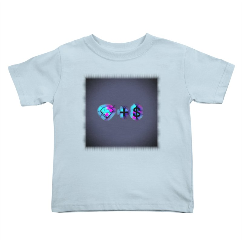 Diamondzndollasignz Kids Toddler T-Shirt by HMKALLDAY's Artist Shop