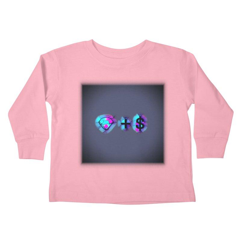 Diamondzndollasignz Kids Toddler Longsleeve T-Shirt by HMKALLDAY's Artist Shop