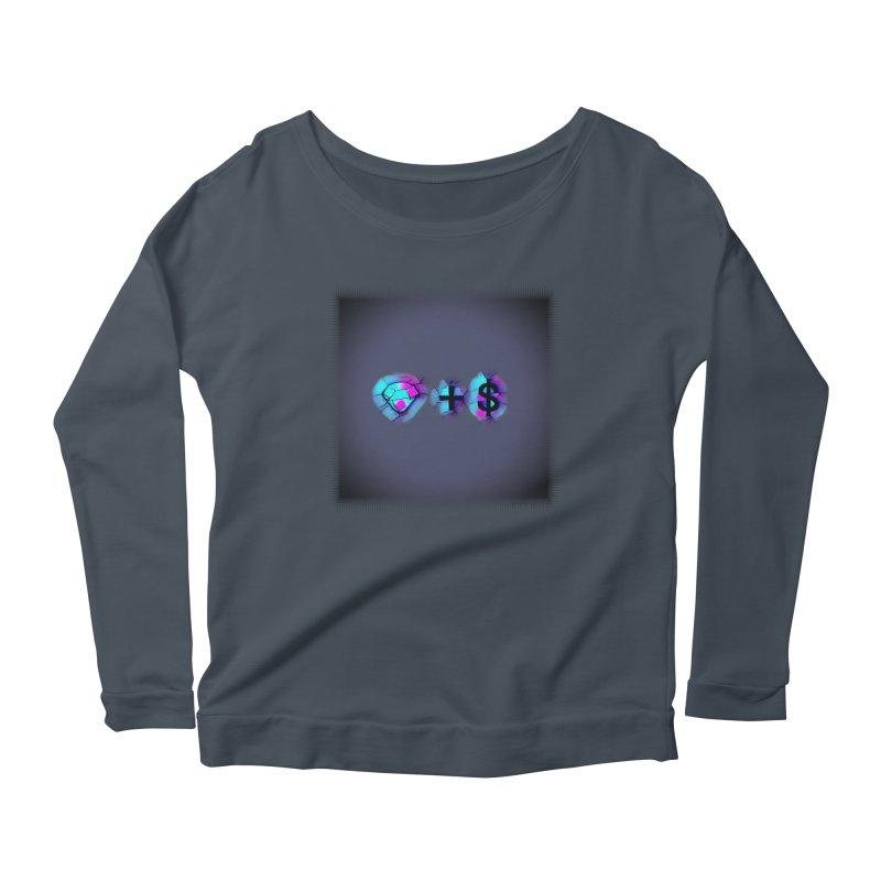 Diamondzndollasignz Women's Scoop Neck Longsleeve T-Shirt by HMKALLDAY's Artist Shop