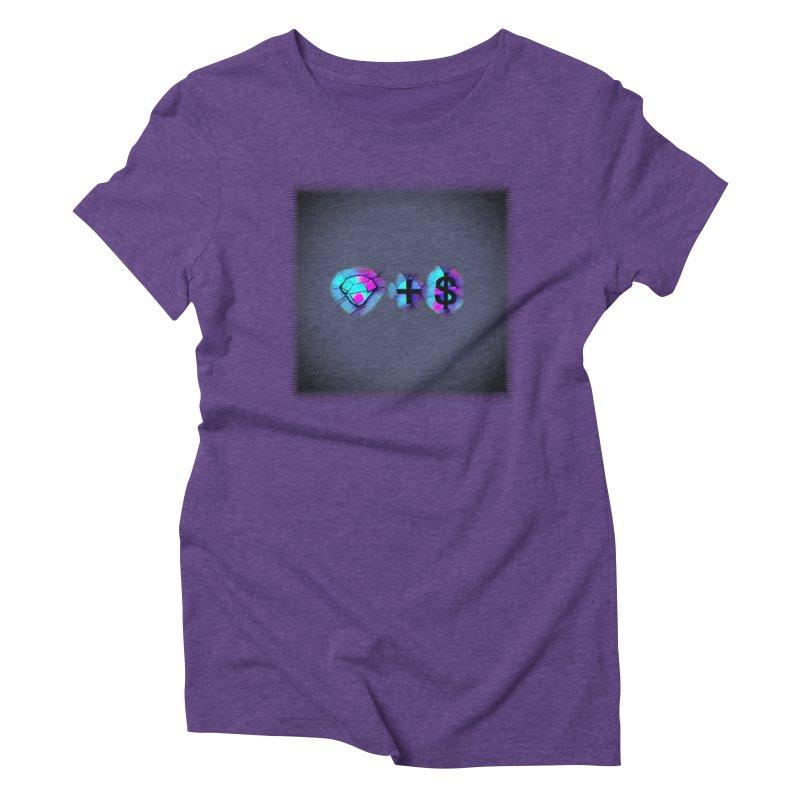 Diamondzndollasignz Women's Triblend T-Shirt by HMKALLDAY's Artist Shop