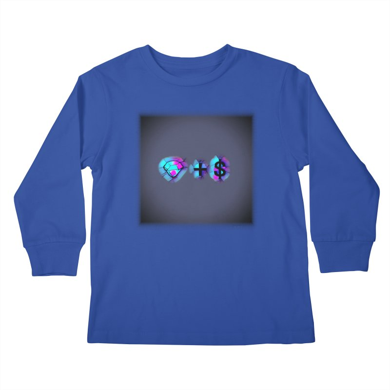 Diamondzndollasignz Kids Longsleeve T-Shirt by HMKALLDAY's Artist Shop