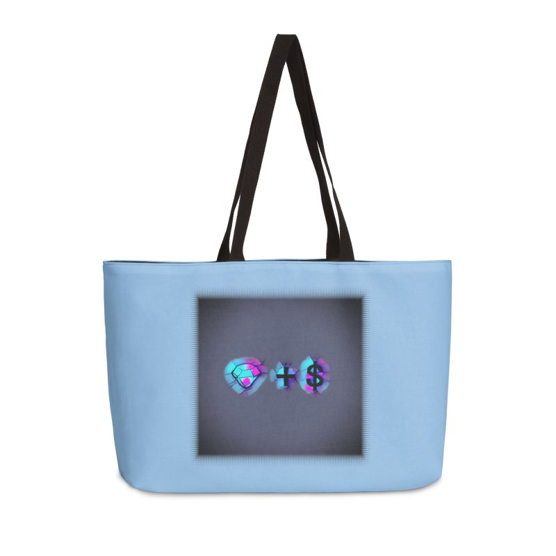 Diamondzndollasignz Accessories Weekender Bag Bag by HMKALLDAY's Artist Shop