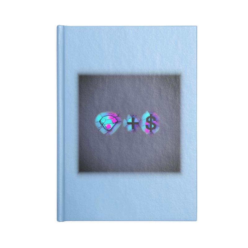 Diamondzndollasignz Accessories Lined Journal Notebook by HMKALLDAY's Artist Shop