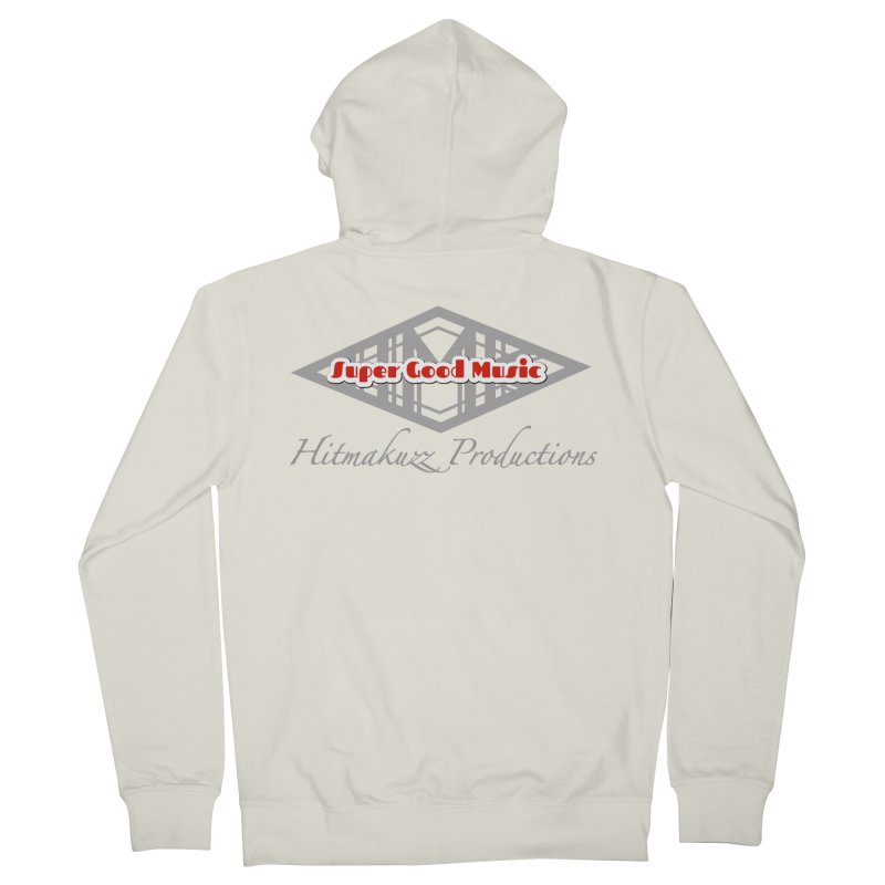 Super Good Music Men's French Terry Zip-Up Hoody by HMKALLDAY's Artist Shop