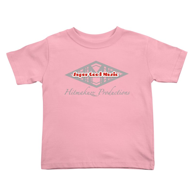 Super Good Music Kids Toddler T-Shirt by HMKALLDAY's Artist Shop