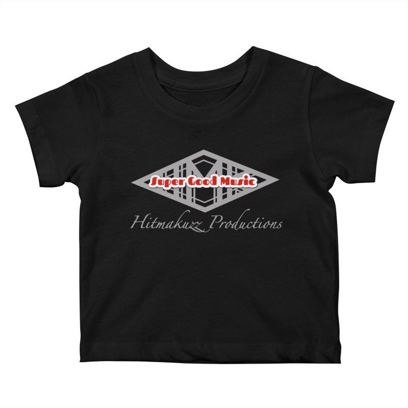 Super Good Music Kids Baby T-Shirt by HMKALLDAY's Artist Shop