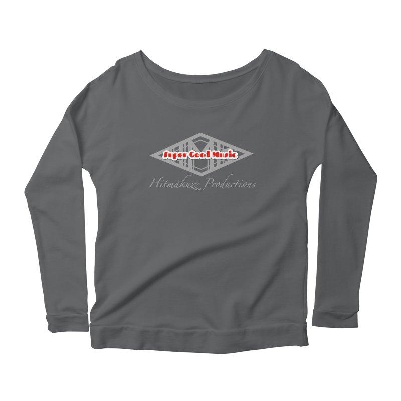 Super Good Music Women's Scoop Neck Longsleeve T-Shirt by HMKALLDAY's Artist Shop
