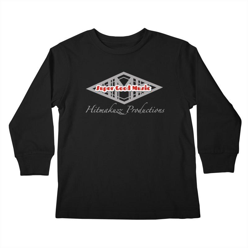 Super Good Music Kids Longsleeve T-Shirt by HMKALLDAY's Artist Shop