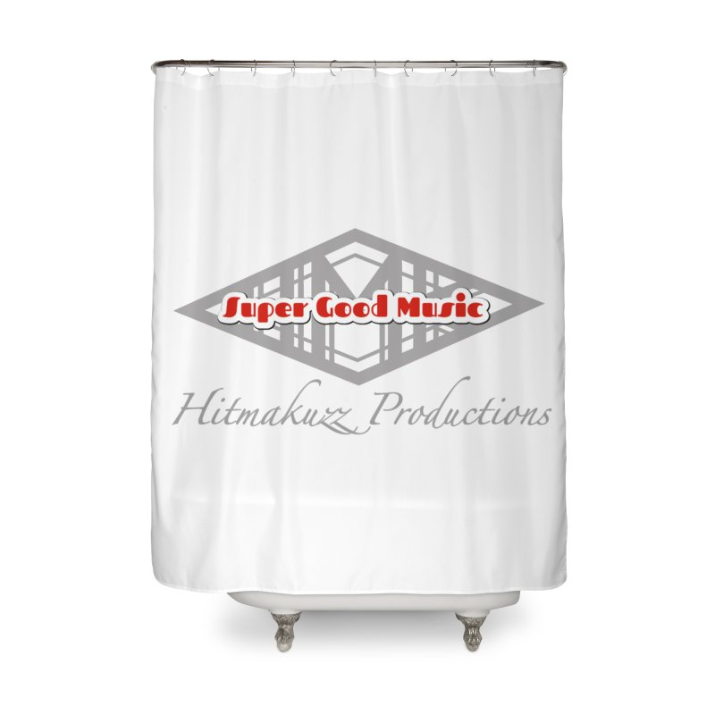 Super Good Music Home Shower Curtain by HMKALLDAY's Artist Shop
