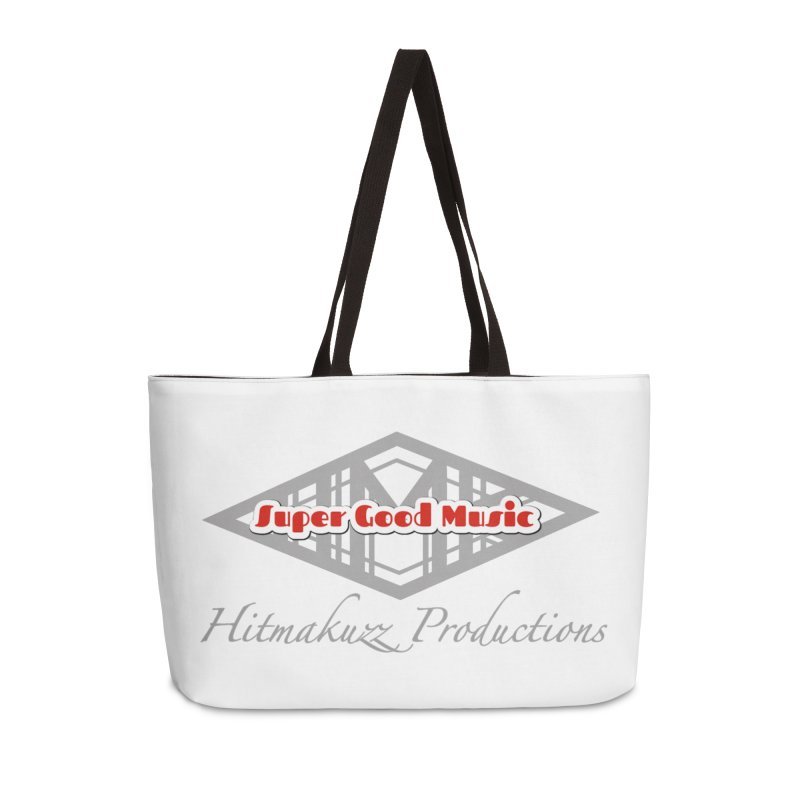 Super Good Music Accessories Weekender Bag Bag by HMKALLDAY's Artist Shop