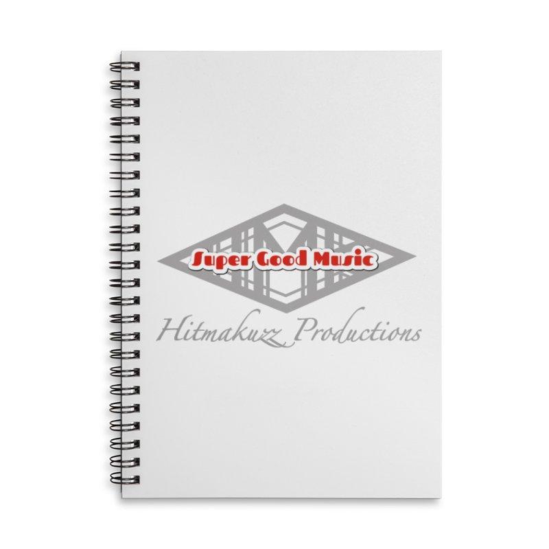 Super Good Music Accessories Lined Spiral Notebook by HMKALLDAY's Artist Shop