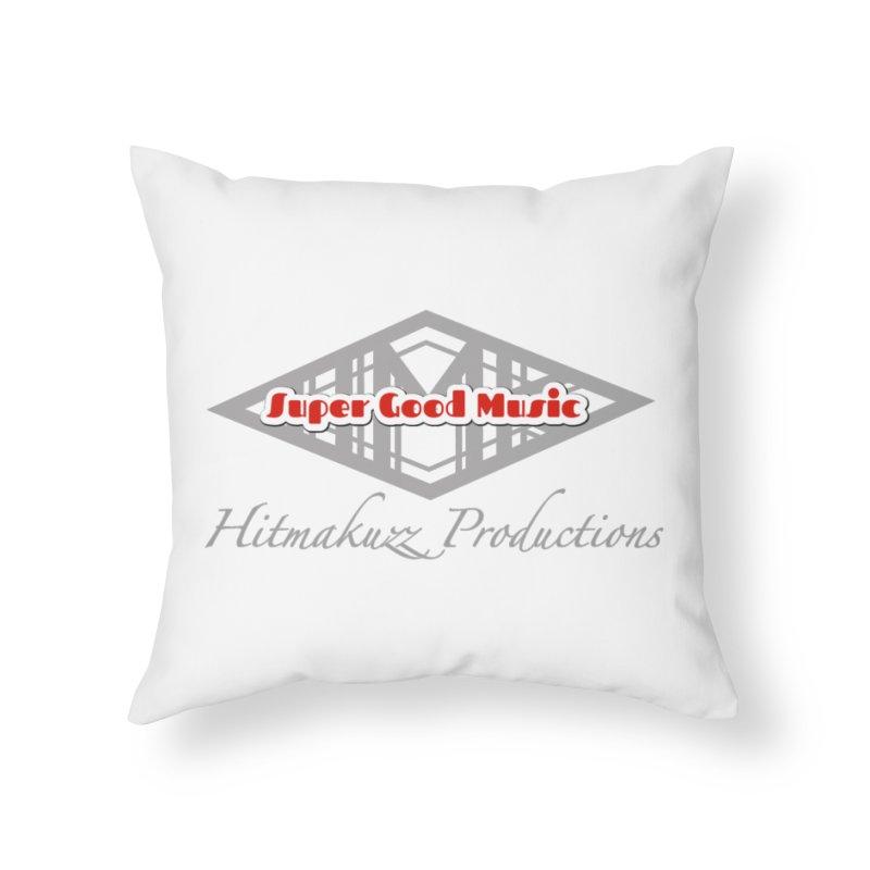 Super Good Music Home Throw Pillow by HMKALLDAY's Artist Shop