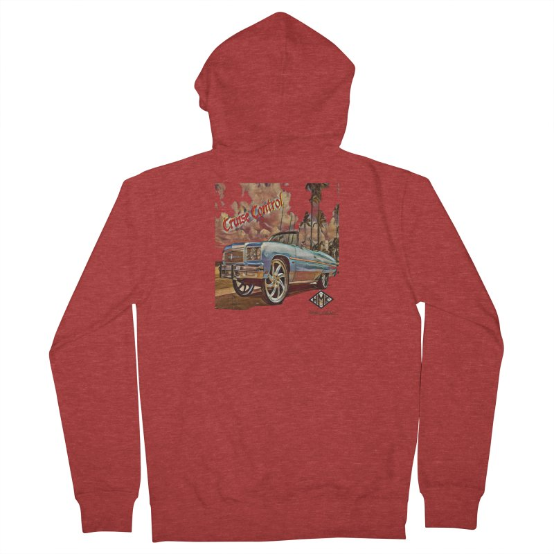 Cruise Control Men's French Terry Zip-Up Hoody by HMKALLDAY's Artist Shop