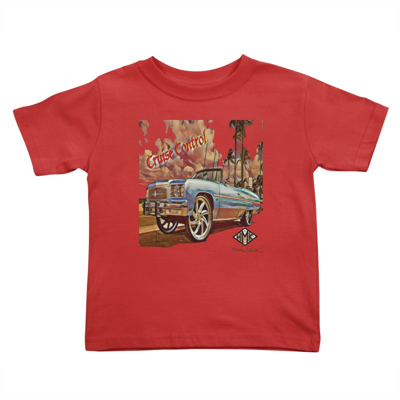 Cruise Control Kids Toddler T-Shirt by HMKALLDAY's Artist Shop