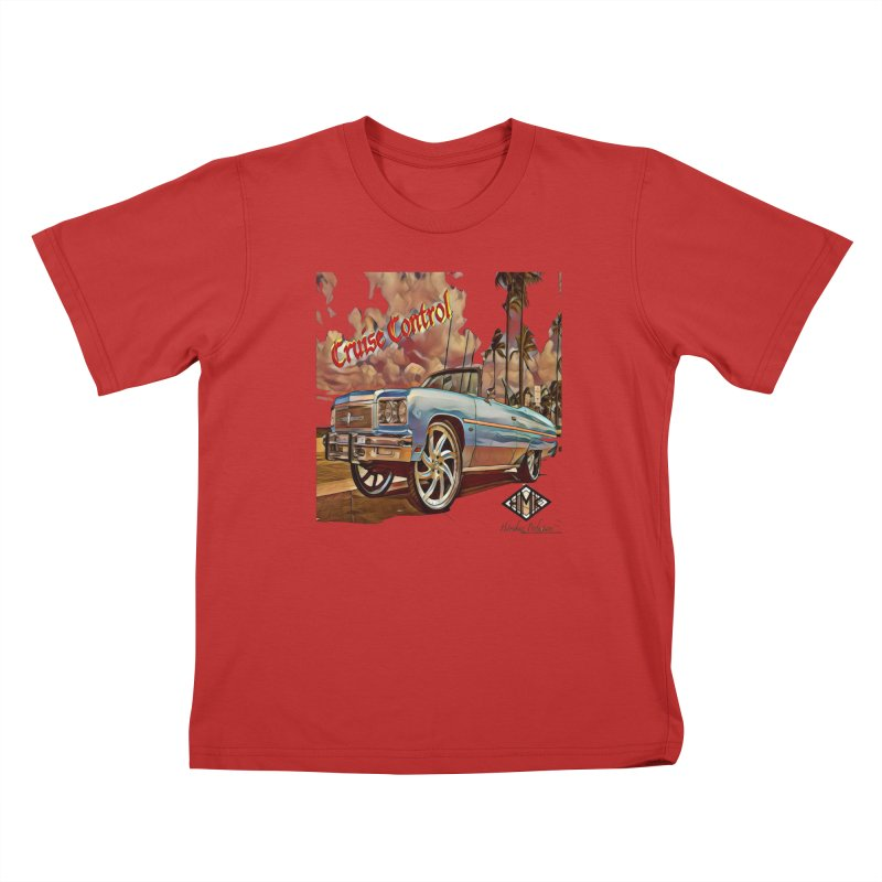 Cruise Control Kids T-Shirt by HMKALLDAY's Artist Shop