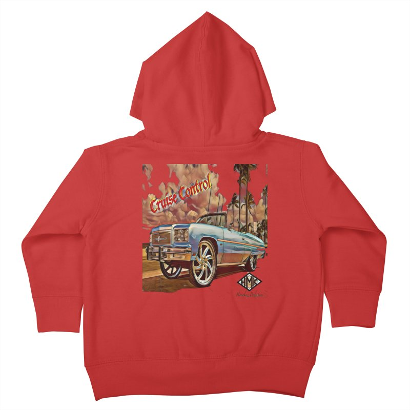 Cruise Control Kids Toddler Zip-Up Hoody by HMKALLDAY's Artist Shop