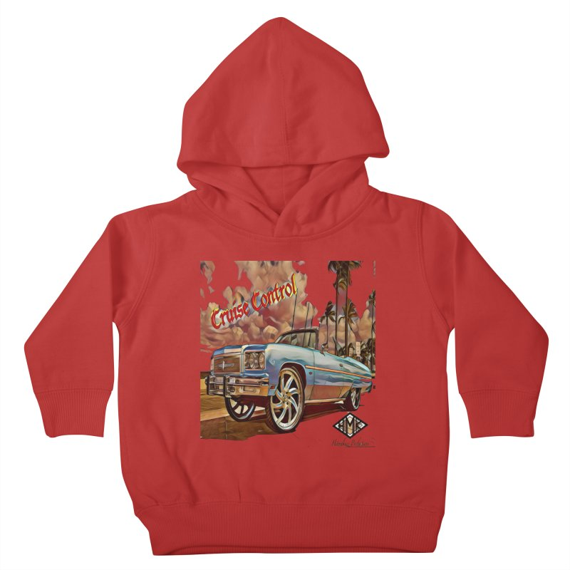 Cruise Control Kids Toddler Pullover Hoody by HMKALLDAY's Artist Shop