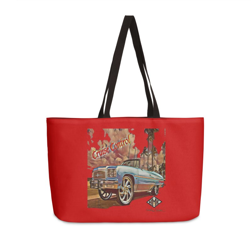 Cruise Control Accessories Weekender Bag Bag by HMKALLDAY's Artist Shop