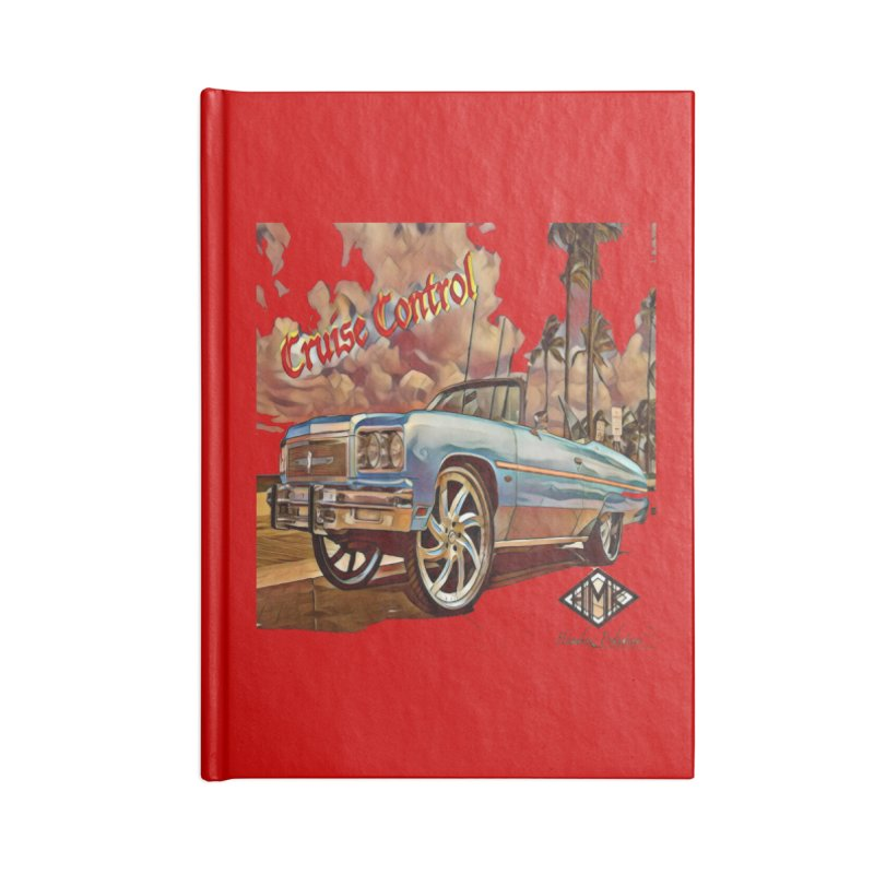 Cruise Control Accessories Blank Journal Notebook by HMKALLDAY's Artist Shop