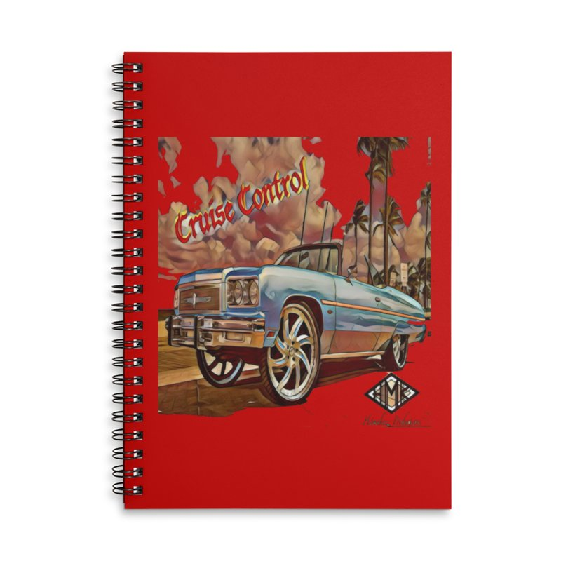 Cruise Control Accessories Lined Spiral Notebook by HMKALLDAY's Artist Shop
