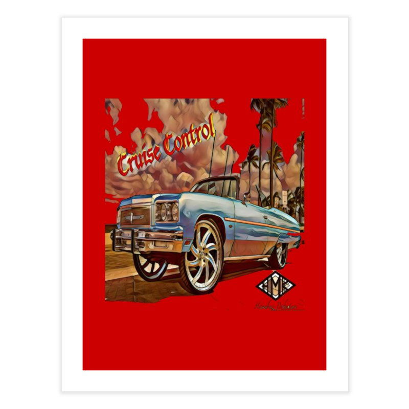 Cruise Control Home Fine Art Print by HMKALLDAY's Artist Shop