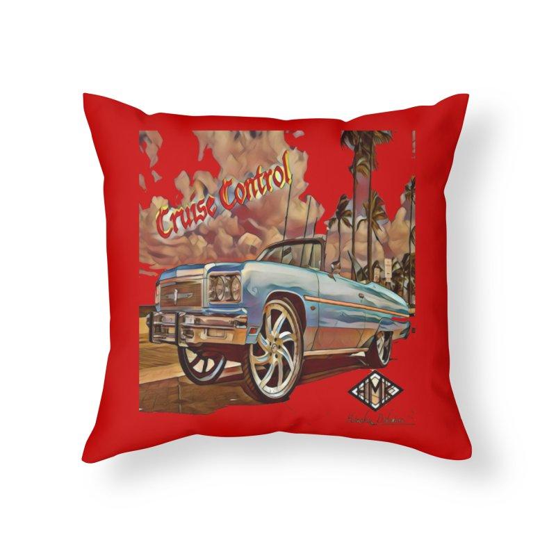 Cruise Control Home Throw Pillow by HMKALLDAY's Artist Shop