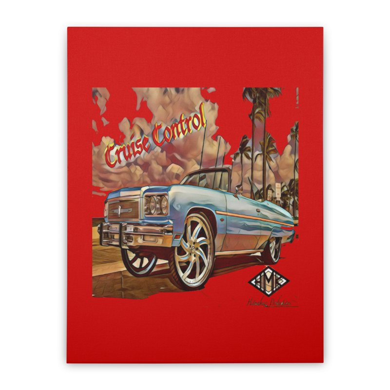 Cruise Control Home Stretched Canvas by HMKALLDAY's Artist Shop