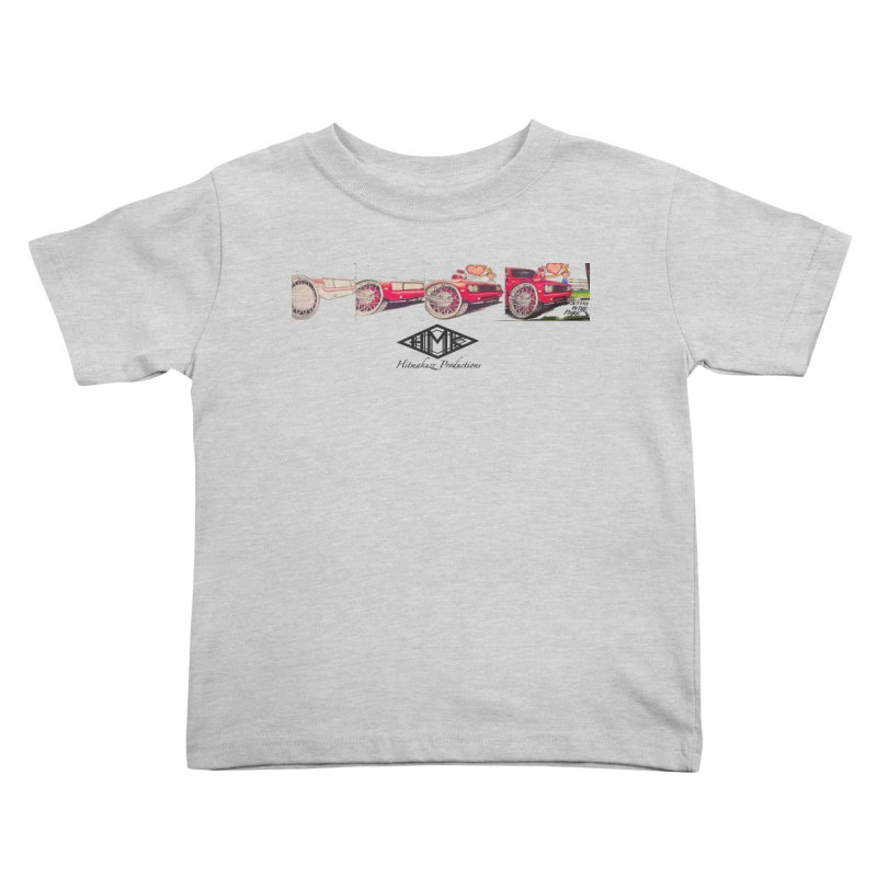 Sittin In Tha Park Kids Toddler T-Shirt by HMKALLDAY's Artist Shop