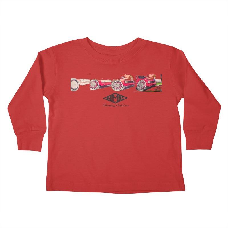 Sittin In Tha Park Kids Toddler Longsleeve T-Shirt by HMKALLDAY's Artist Shop