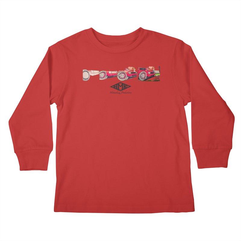 Sittin In Tha Park Kids Longsleeve T-Shirt by HMKALLDAY's Artist Shop