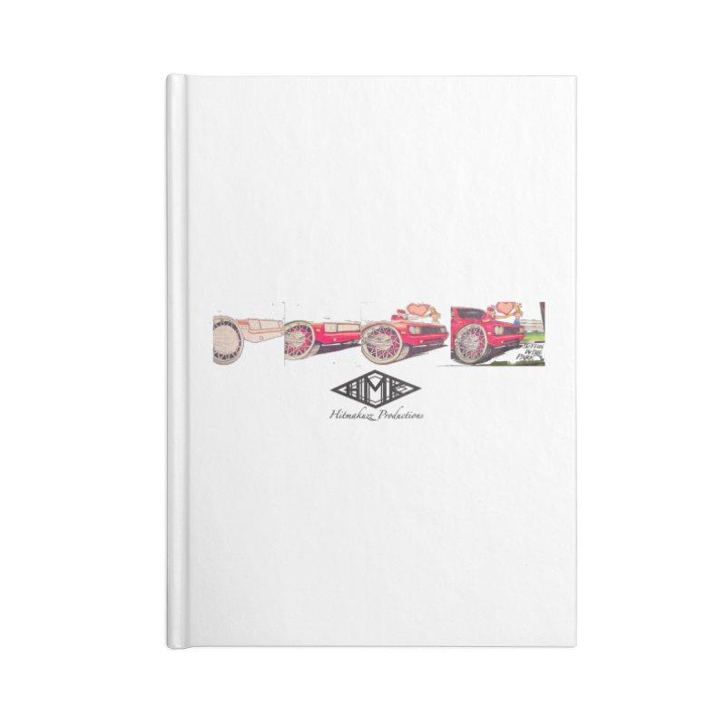 Sittin In Tha Park Accessories Notebook by HMKALLDAY's Artist Shop
