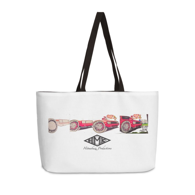 Sittin In Tha Park Accessories Weekender Bag Bag by HMKALLDAY's Artist Shop