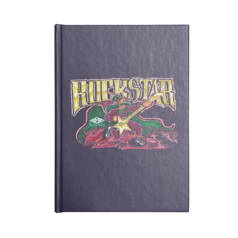 RocKstar Accessories Blank Journal Notebook by HMKALLDAY's Artist Shop