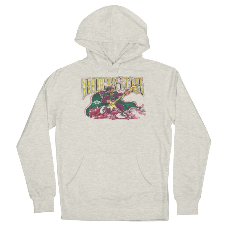 RocKstar Women's French Terry Pullover Hoody by HMKALLDAY's Artist Shop
