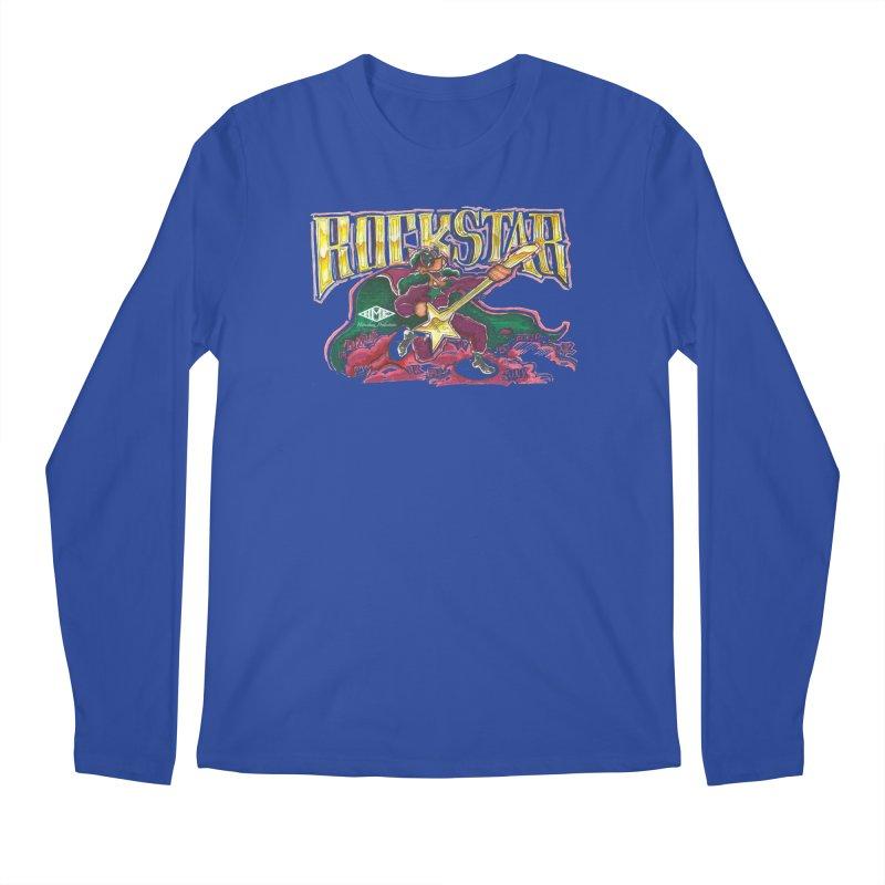 RocKstar Men's Regular Longsleeve T-Shirt by HMKALLDAY's Artist Shop