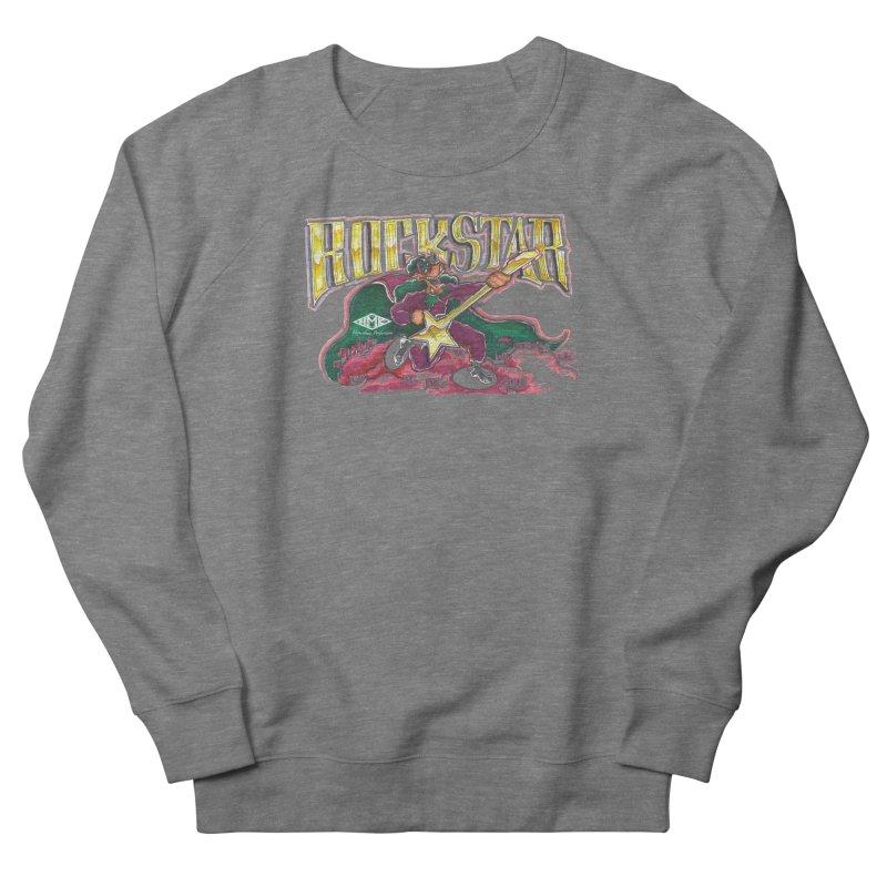 RocKstar Women's French Terry Sweatshirt by HMKALLDAY's Artist Shop