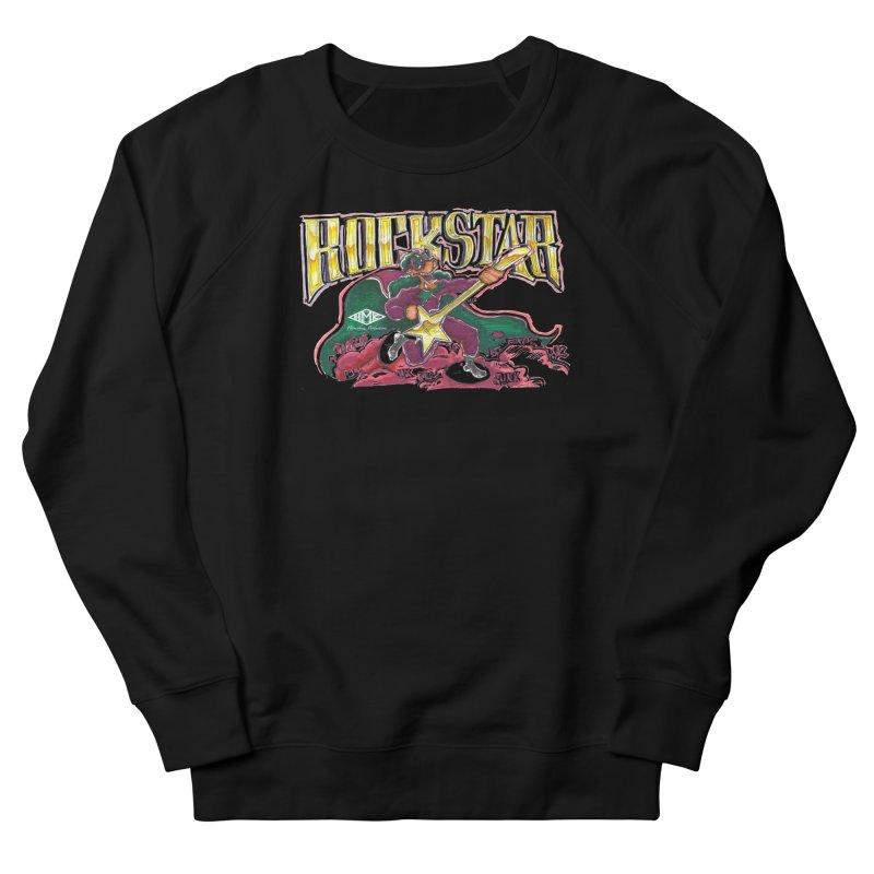 RocKstar Men's French Terry Sweatshirt by HMKALLDAY's Artist Shop