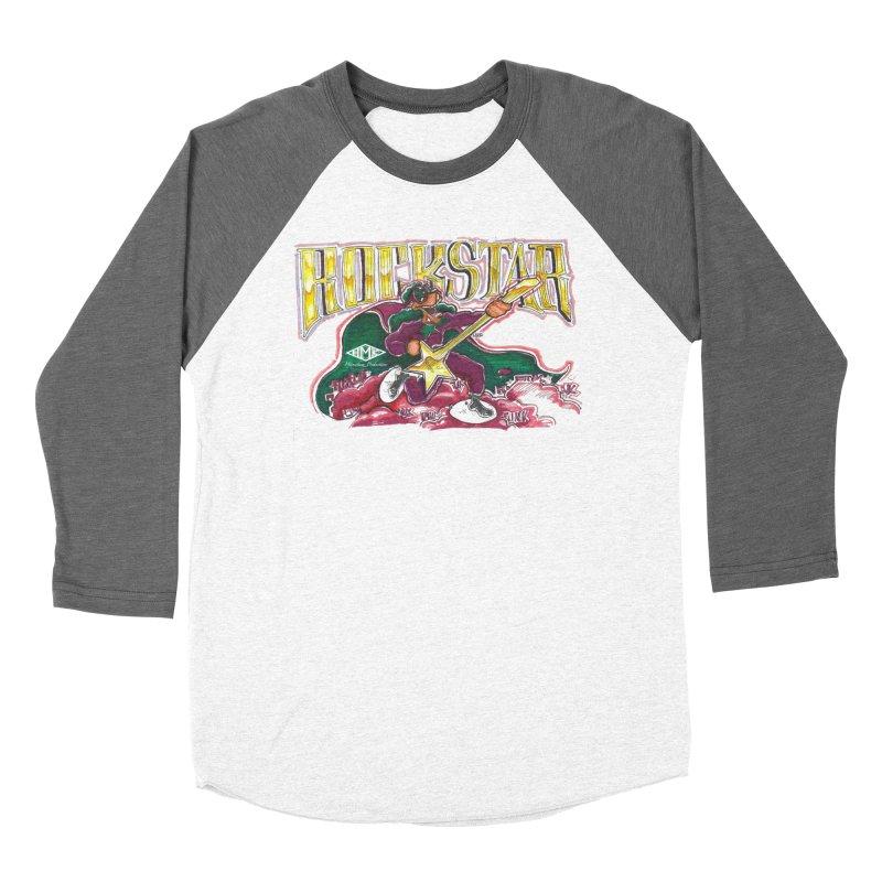 RocKstar Women's Baseball Triblend Longsleeve T-Shirt by HMKALLDAY's Artist Shop