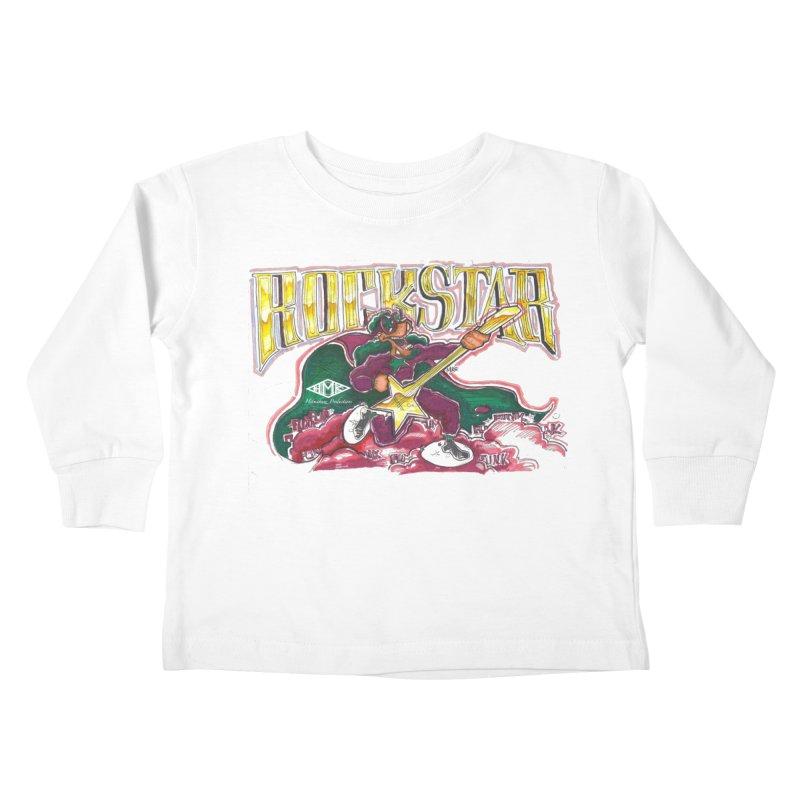 RocKstar Kids Toddler Longsleeve T-Shirt by HMKALLDAY's Artist Shop